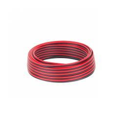 Kabel głośnikowy CCA 0.75mm czarno-czerwony 10M, rolka