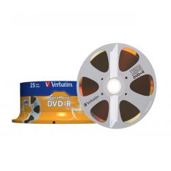 DVD-R VERBATIM 4,7GB 8X DIGITAL MOVIE CAKE 25szt.