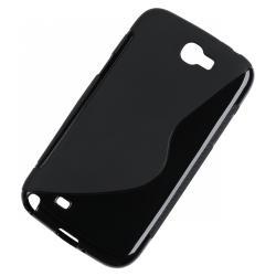 Etui silikonowe do Samsung Galaxy Note II czarny