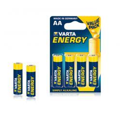 Bateria alkaliczna VARTA LR06 ENERGY 4szt./bl., blister