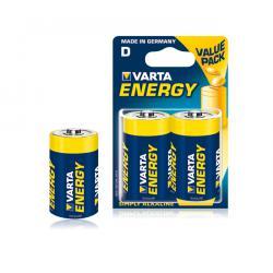 Bateria alkaliczna VARTA LR20 ENERGY 2szt./bl., blister