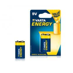 Bateria alkaliczna VARTA 9V ENERGY 1szt./bl., blister