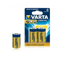 Bateria alkaliczna VARTA LR14 LONGLIFE 2szt./bl., blister