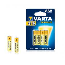Bateria VARTA R03 SUPERLIFE 4szt./bl., blister