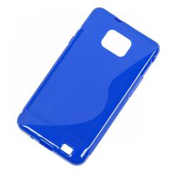Back Cover Case do Samsung Galaxy S2 Niebieski