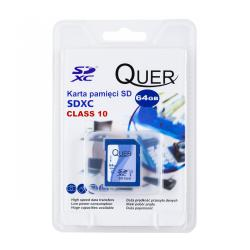Karta pamięci SDHC 64GB Class 10 Quer