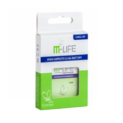 Bateria M-life BA S460 do HTC Wildfire S HD3 HD7 small box
