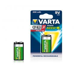 Akumulator Varta 9V 200mAh, blister