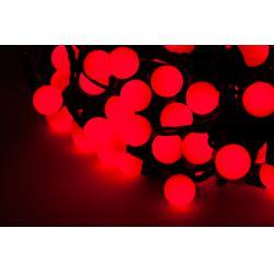 Lampki choinkowe LED, kolor czerwony (20 m)