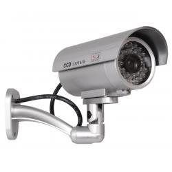 Atrapa kamery IR 9000 S IR LED srebrna
