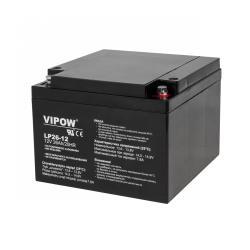 Akumulator żelowy VIPOW 12V 26Ah
