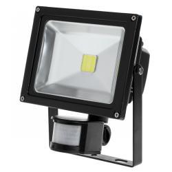 Reflektor LED 20 W z sensorem ruchu i zmierzchu 6400 K