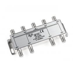EDC Złącze SAT 8 way splitter 5-1000MHz