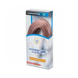 Kabel głośnikowy CCA 1.5mm 10M, rolka
