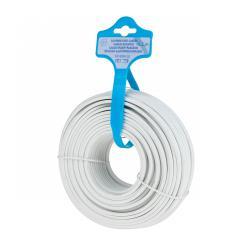 EDC Kabel głośnikowy 25m 2x1.5mm biały, rolka