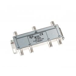 EDC Złącze SAT 6 way splitter 5-1000MHz
