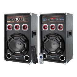 Aktywne kolumny głośnikowe Intex DJ-220K SUF