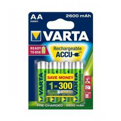 Akumulator VARTA AA 2600mAh 4szt./bl., blister