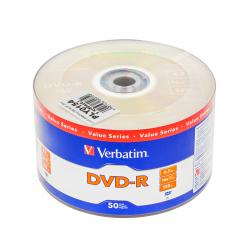DVD-R VERBATIM 4,7GB 16X SP. 50szt.