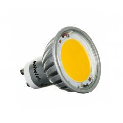 Lampa LED 7W, GU10, 2700K, ciepłe białe, 230V
