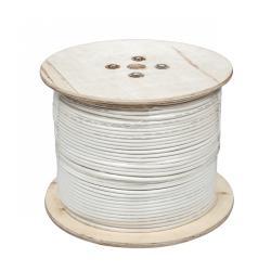 Kabel koncentryczny F690BV.A biały szpula 305m, rolka
