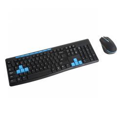 Bezprzewodowy zestaw klawiatura i mysz Quer Comfort 2,4 GHz