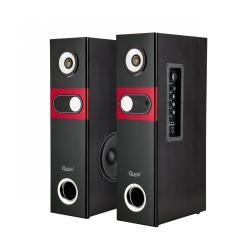 Domowy zestaw kolumn głośnikowych z wbudowanym odtwarzaczem MP3 oraz funkcją Karaoke marki Quer