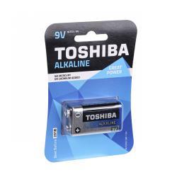 Bateria alkaliczna TOSHIBA 9V blister, blister
