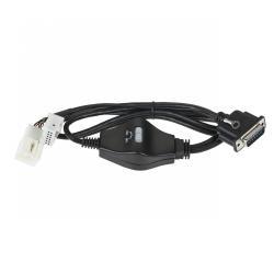 Kabel do cyfrowej zmieniarki Peiying PY-EM01 i PY-EM04 Audi, Skoda, Volkswagen 12 pin