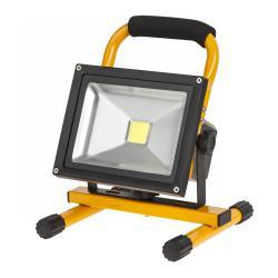 Reflektor przenośny LED 20W z ładowarką sieciowa i samochodową