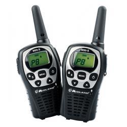 Radiotelefony ręczne PMR MIDLAND M99S, komplet