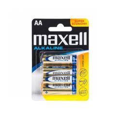 Bateria alkaliczna MAXELL LR6 4szt./blist., blister