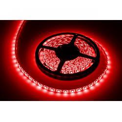 Sznur diodowy 5m czerwony wodoodporny (300x5050SMD) - białe PCB