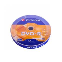 DVD-R VERBATIM 4,7GB 16X SP 10szt.