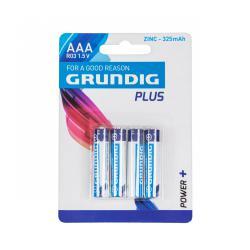 Bateria cynkowa Grundig R03 4szt./blister, blister