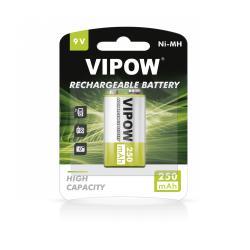 Akumulatorki VIPOW HF9 250 mAh Ni-MH 1sz/bl, blister