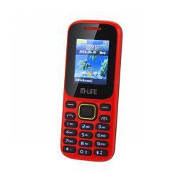 Telefon GSM M-LIFE ML0586.1 dual SIM czerwony