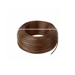 Przewód LgY 1x0,5 H05V-K brązowy, rolka