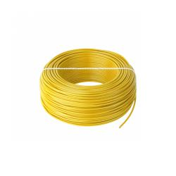 Przewód LgY 1x0,5 H05V-K żółty, rolka