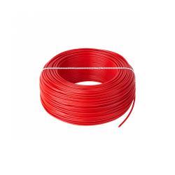 Przewód LgY 1x0,75 H05V-K czerwony, rolka