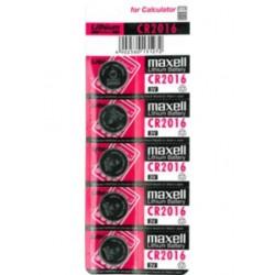 Bateria CR2016 MAXELL B5