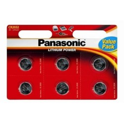 Bateria CR2032 Panasonic B6