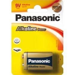 Bateria 6LR61 Panasonic /B1/ 9V alka.