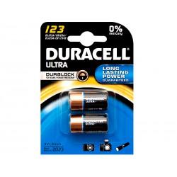 Bateria CR123A Duracell B2