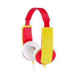 JVC HA-KD5 -R Słuchawki nauszne dla dzieci. Czerwono żółte
