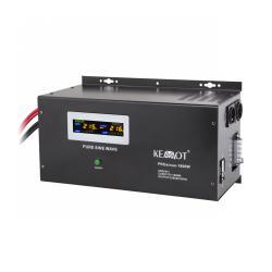Awaryjne źródło zasilania KEMOT PROsinus-1600W przetwornica z czystym przebiegiem sinusoidalnym i