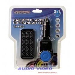 .Transmiter VK T-663C BLUE
