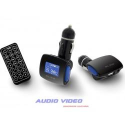 .Transmiter FM BLOW USB SD/MMC niebieski