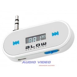 .Transmiter FM BLOW for smartphone white