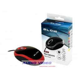 Mysz optyczna BLOW MP-20USB czerwona